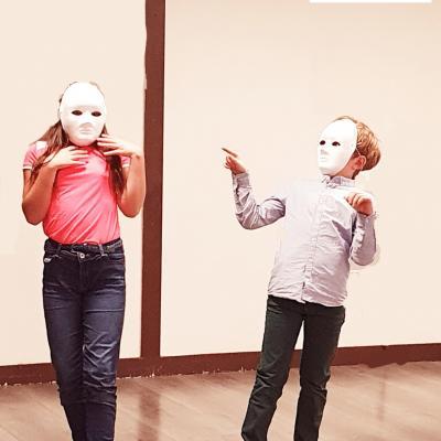 Stage toussaint jeu masqué